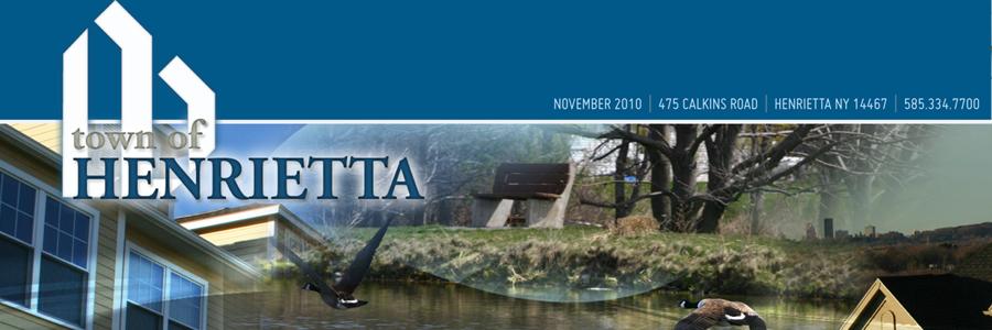 Henrietta Newsletter